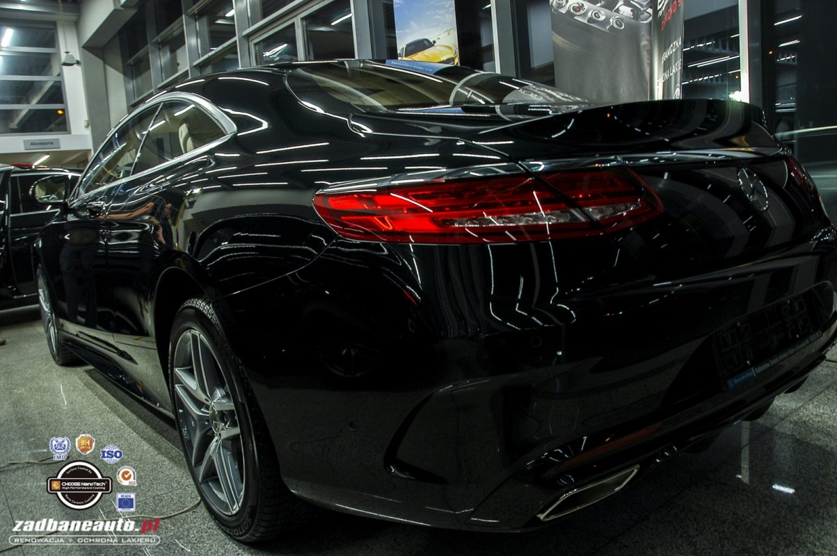 MERCEDES S 400 COUPE