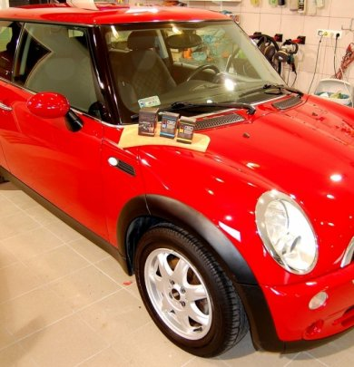 Mini One red